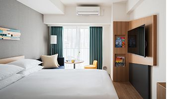 Perfect for business and leisure,  experience modern living in Tokyo's Shinjuku area with our Best Flexible Rates for stays as short as 1 night.