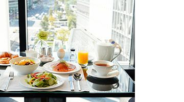 Rise and shine in Tokyo with our Bed & Breakfast package inclusive of breakfast and high-speed wireless internet.