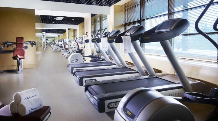 Oakwood Residence Beijing's fitness center