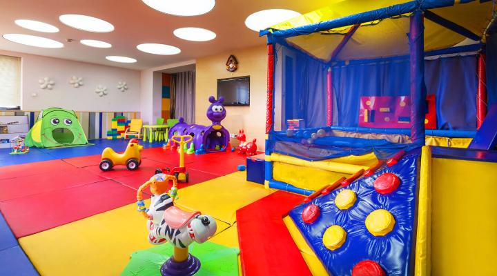 Oakwood Residence Beijing's indoor playroom