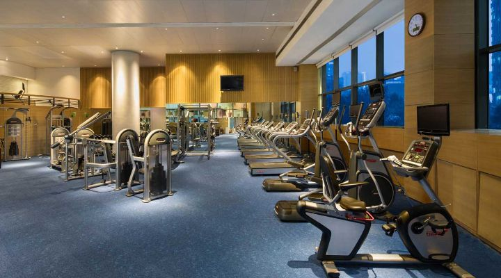 Oakwood Residence Hangzhou's gym