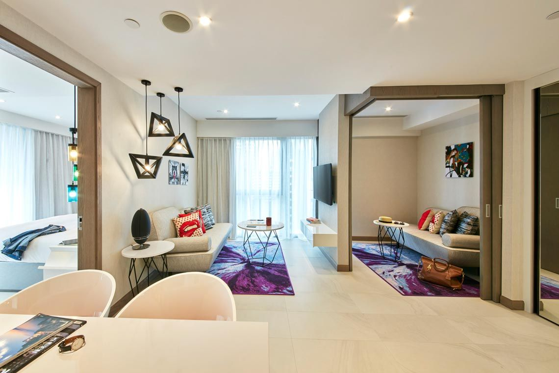 Oakwood Studios Singapore's one-bedroom executive apartment