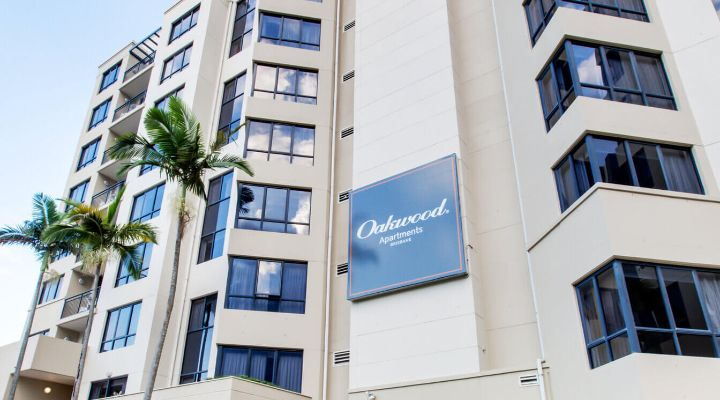 Oakwood Hotel & Apartments Brisbane exterior
