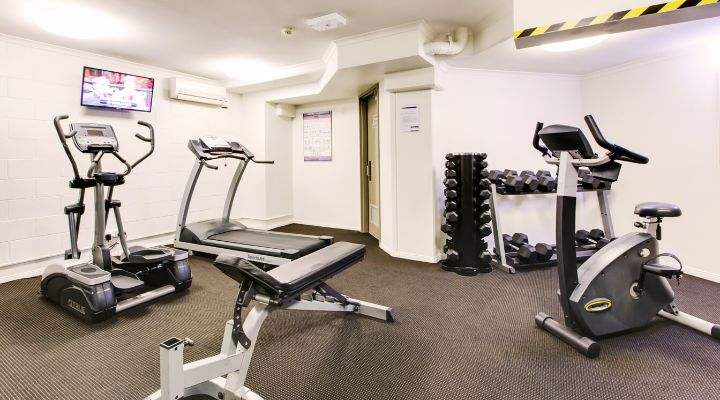 Oakwood Hotel & Apartments Brisbane's gym