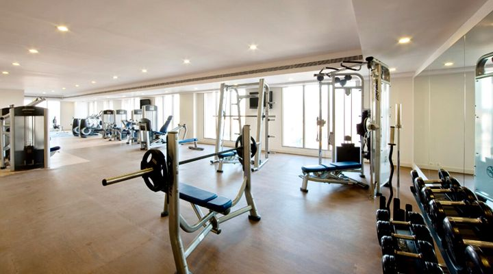 Oakwood Premier Prestige Bangalore's fitness center