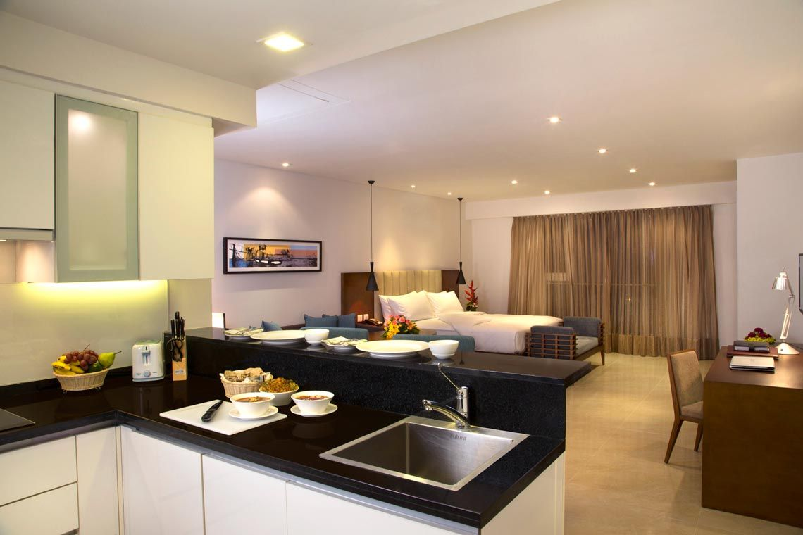 Oakwood Residence Prestige Whitefield, Bangalore's studio apartment