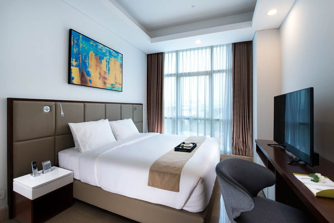 Oakwood Suites La Maison Jakarta two-bedroom suite