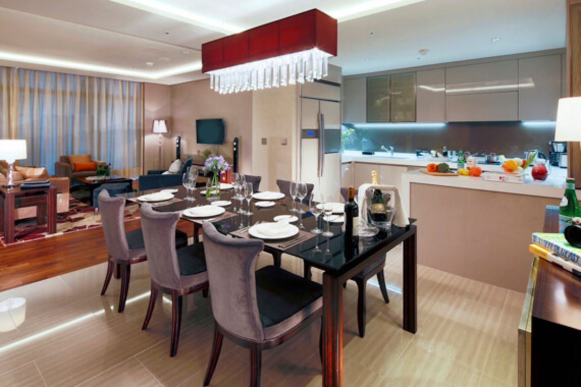 Oakwood Premier Incheon three-bedroom suite
