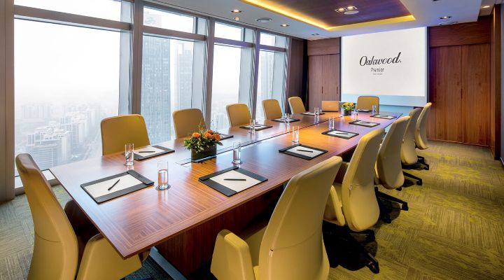 Oakwood Premier Incheon's meeting room