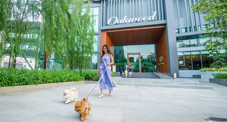 Oakwood Hotel & Residence Sri Racha is the great pet-friendly hotel in Sri Racha city