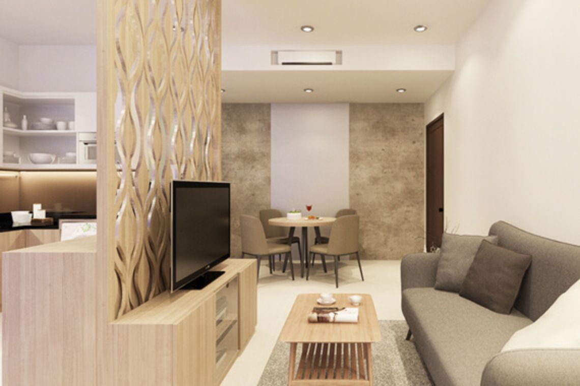 Oakwood Apartments Ho Chi Minh City's one-bedroom penthouse