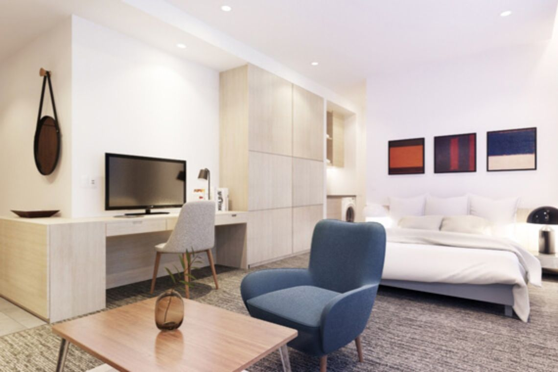 Oakwood Apartments Ho Chi Minh City's studio