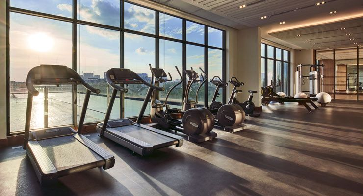 Oakwood Residence Saigon's The Fitness Center by Oakwood