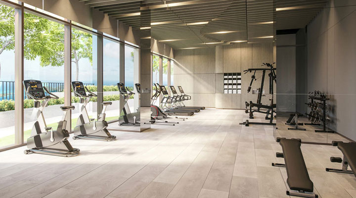 Oakwood Apartments Sanya's fitness center