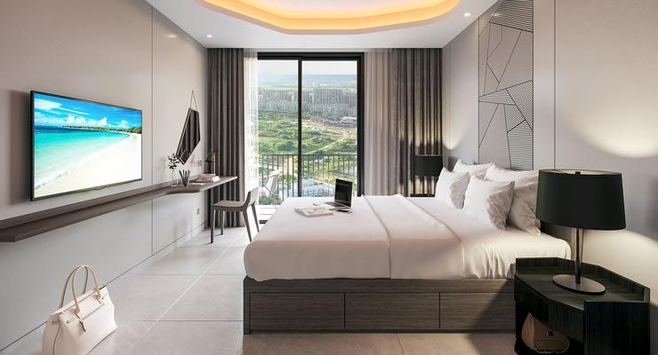 Oakwood Apartments Sanya's studio apartment