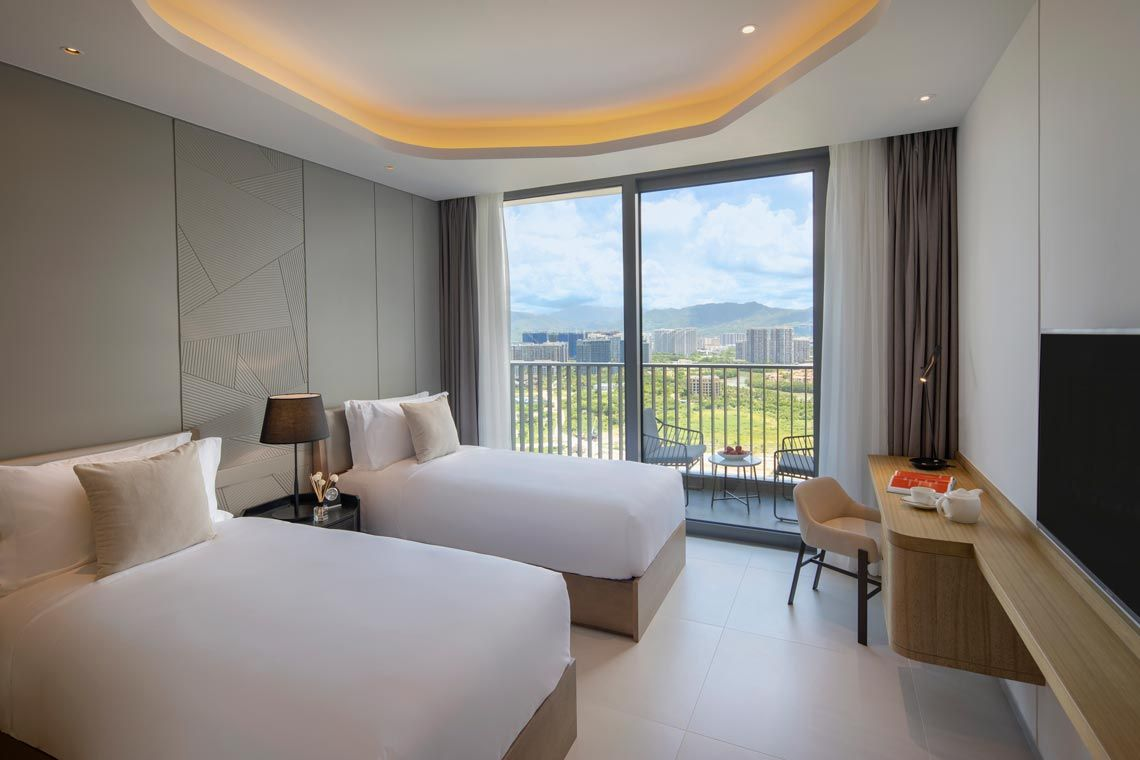 Oakwood Apartments Sanya's three-bedroom ocean apartment