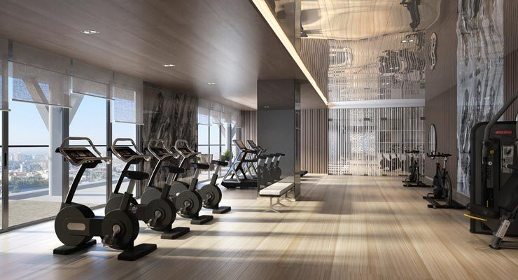 Oakwood Residence Hanoi's fitness center