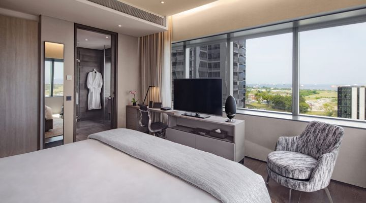 Oakwood Premier OUE Singapore's one-bedroom apartment
