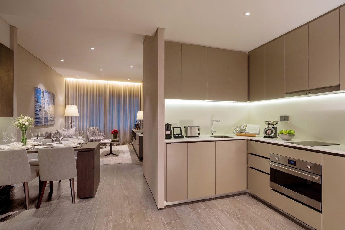 Oakwood Premier OUE Singapore's one-bedroom executive apartment