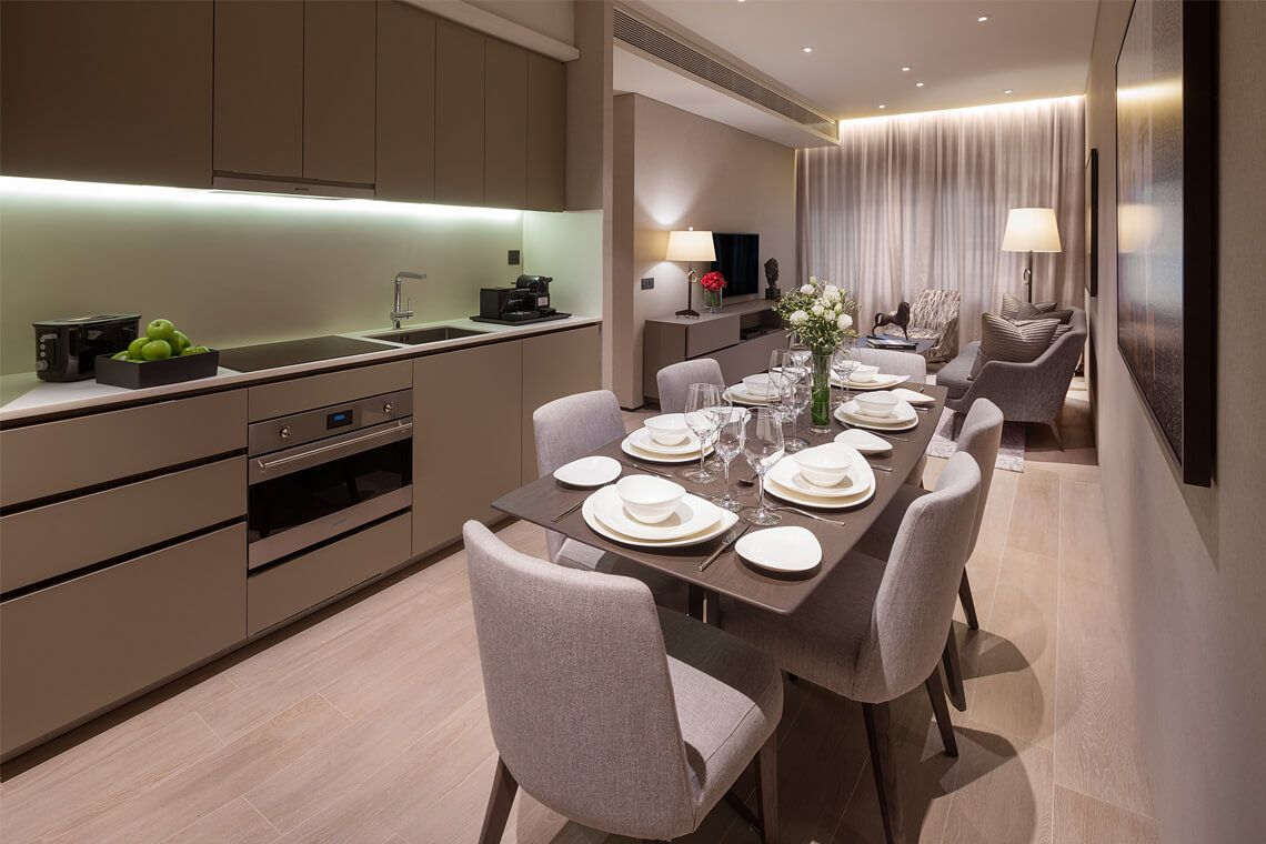 Oakwood Premier OUE Singapore's two-bedroom executive apartment