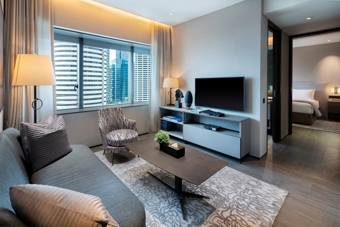 Oakwood Premier OUE Singapore's two-bedroom premier apartment
