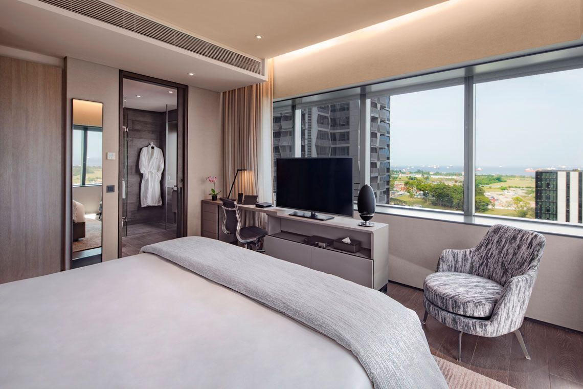 Oakwood Premier OUE Singapore's one-bedroom premier apartment